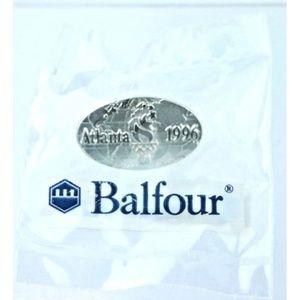 Balfour Jewelry - 1996 Atlanta Olympics Balfour Oval 100th Olympics
